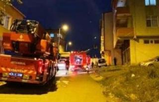 Ataşehir'de ambalaj deposunda korkutan yangın
