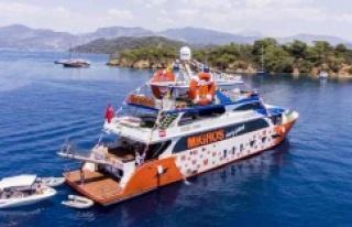 """""""Migros Deniz Market"""" Denizde de Hizmet Sunuyor"""