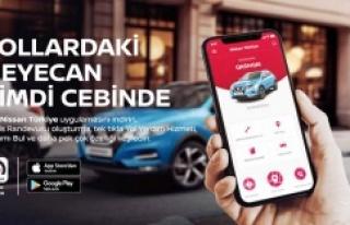 """""""NISSAN Türkiye Mobil Uygulaması"""" Devrede"""