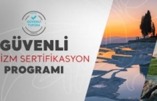 RESTORANLARINA 'GÜVENLİ TURİZM' SERTİFİKASI