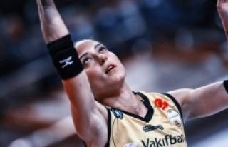 VakıfBank, Pınar Eren Atasever'e teşekkür...