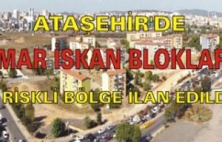ATAŞEHİR'DE İMAR İSKAN BLOKLARI RİSKLİ...