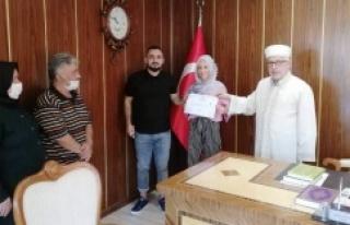 "Ataşehir'de ""Solen BONIN"" İSLAMI..."