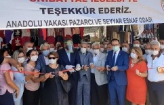 Ataşehir Barbaros Mahallesi Kapalı Pazar Açılışı...