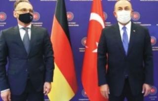 Bakan Çavuşoğlu ile Almanya Dışişleri Bakanı'ndan...