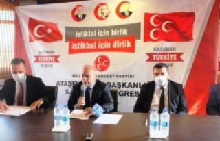 MHP Ataşehir 'de Sadun Bizel'le devam dedi