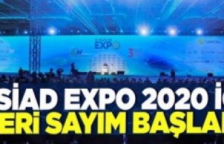 MÜSİAD EXPO 2020 İÇİN GERİ SAYIM BAŞLADI