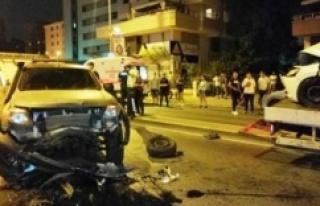 Ataşehir'de  Hatalı Sollama Faciayla Bitti