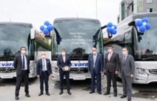 Varan Turizm 70 milyon TL'lik yerli otobüs satın...