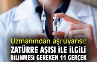 Zatürre aşısı ile ilgili bilinmesi gereken 11...
