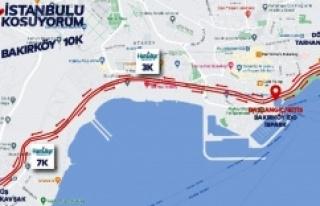İSTANBUL'U KOŞUYORUM' BAKIRKÖY ETABINDA 400...