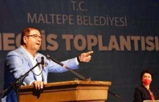Maltepe Belediyesi'nin 2021 yılı bütçesi 545...
