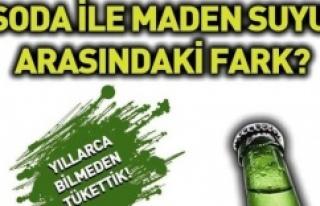 SODA & MADEN SUYU FARKI