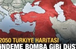 2050 Türkiye haritası