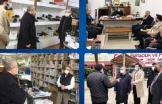 AK Parti Ataşehir Teşkilatı Esnaf Ziyareti