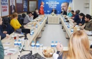 İSMAİL ERDEM: 'YEREL BASINLA BULUŞTU'