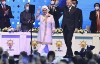 Recep Tayyip Erdoğan yeniden AK Parti Genel Başkanı...