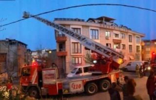 Ataşehir'de iftar vakti yangın paniği