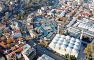 Bursa'nın Hanlar Bölgesinde Tarih Gün yüzüne...