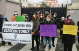 """Kadınlar Ataşehir'de eylemdeydi: """"İstanbul..."""