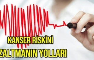 """KANSER RİSKİNİ DÜŞÜREN """"14"""" GÜNLÜK YAŞAM..."""
