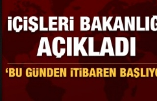 Türkiye genelinde 'yoğunlaştırılmış dinamik...
