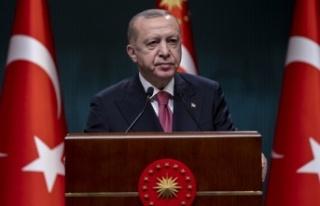 Cumhurbaşkanı Erdoğan açıkladı: Sokak kısıtlamasında...