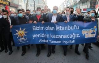 Osman Nuri Kabaktepe, hız kesmeden çalışmalarına...