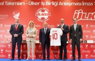Ülker, Milli Futbol Takımları'nın Sponsoru oldu