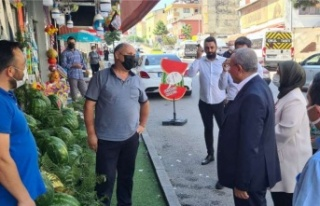 AK Parti Ataşehir Teşkilatı'ndan Esnaf Ziyareti