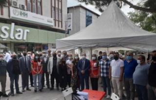 Ataşehir MHP'den kan bağışı kampanyası