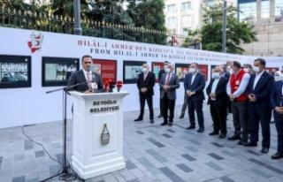 Kızılay'ın 153 yıllık İyilik Hareketi Beyoğlu'nda...