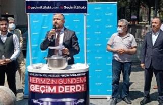 """Saadet Partisi'nden """"SEÇİM DEĞİL GEÇİM İTTİFAKI""""..."""