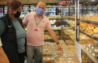 Maltepe'de Bayram öncesi gıda işletmelerine...