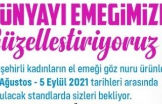 ATAŞEHİR'DE EL EMEĞİNE DAİR HER ŞEY BU...