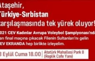 ATAŞEHİR, AVRUPA KADINLAR VOLEYBOL ŞAMPİYONASI'NDA...