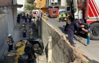 Ataşehir'de feci ölüm