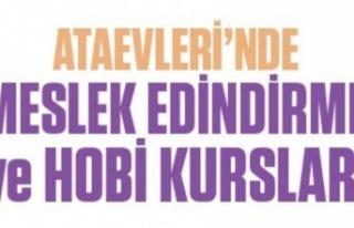 ATAŞEHİR'DE MESLEK EDİNDİRME VE HOBİ KURSLARI...
