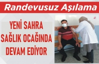 Ataşehir'de Rasevusuz Covid-19 aşısı