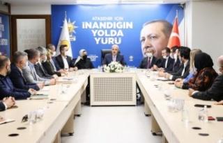 Kurtulmuş, Ak Parti Ataşehir ve Ümraniye ilçe...