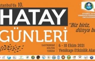 İstanbulda Hatay Günleri