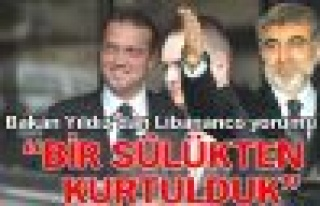 """Enerji Bakanı Taner Yıldız, """"Bir sülükten kurtulduk"""""""