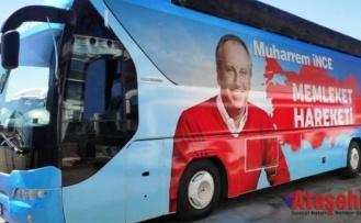 Otobüs hazırlandı, İnce yola çıkıyor