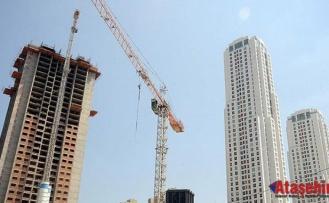Ekonomideki belirsizlik inşaat sektörünü etkiliyor