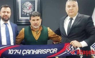 1074 Çankırıspor'un Yeni Başkanı Barbaros Özdemir