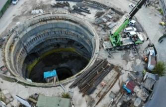 Ataşehir'de metro inşaatında kaza: 1 işçi yaralandı