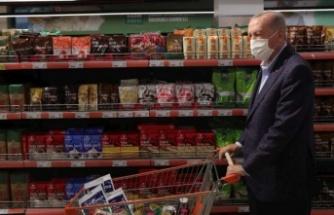 Cumhurbaşkanı Erdoğan:1000 kadar market yapılması talimatı verdik