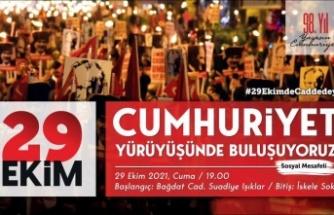 CUMHURİYET'İN 98'İNCİ YAŞI KADIKÖY'DE COŞKUYLA KUTLANACAK