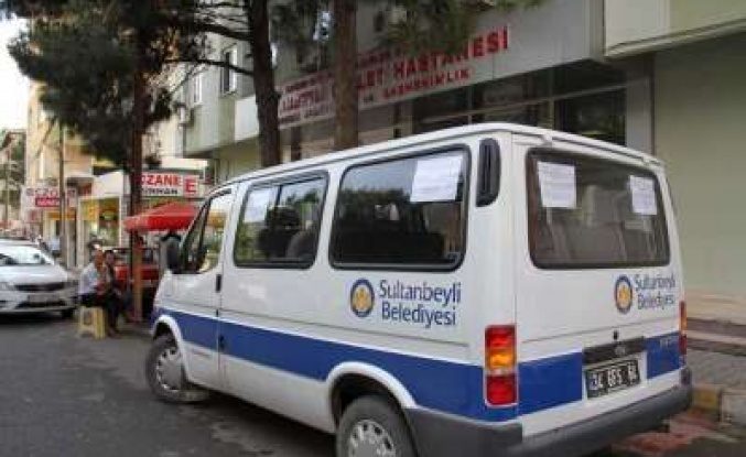 SULTANBEYLİ DE HASTALARA ÖZEL SERVİS HİZMETİ