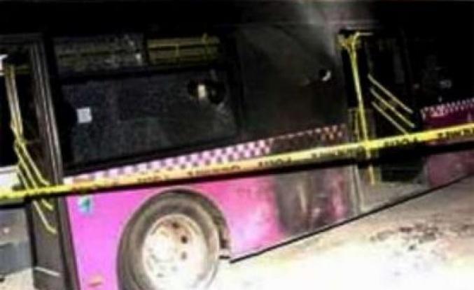 PKK'lılar AK Parti otobüsü sanınca...  'AK Parti'nin aracı'  diyerek..